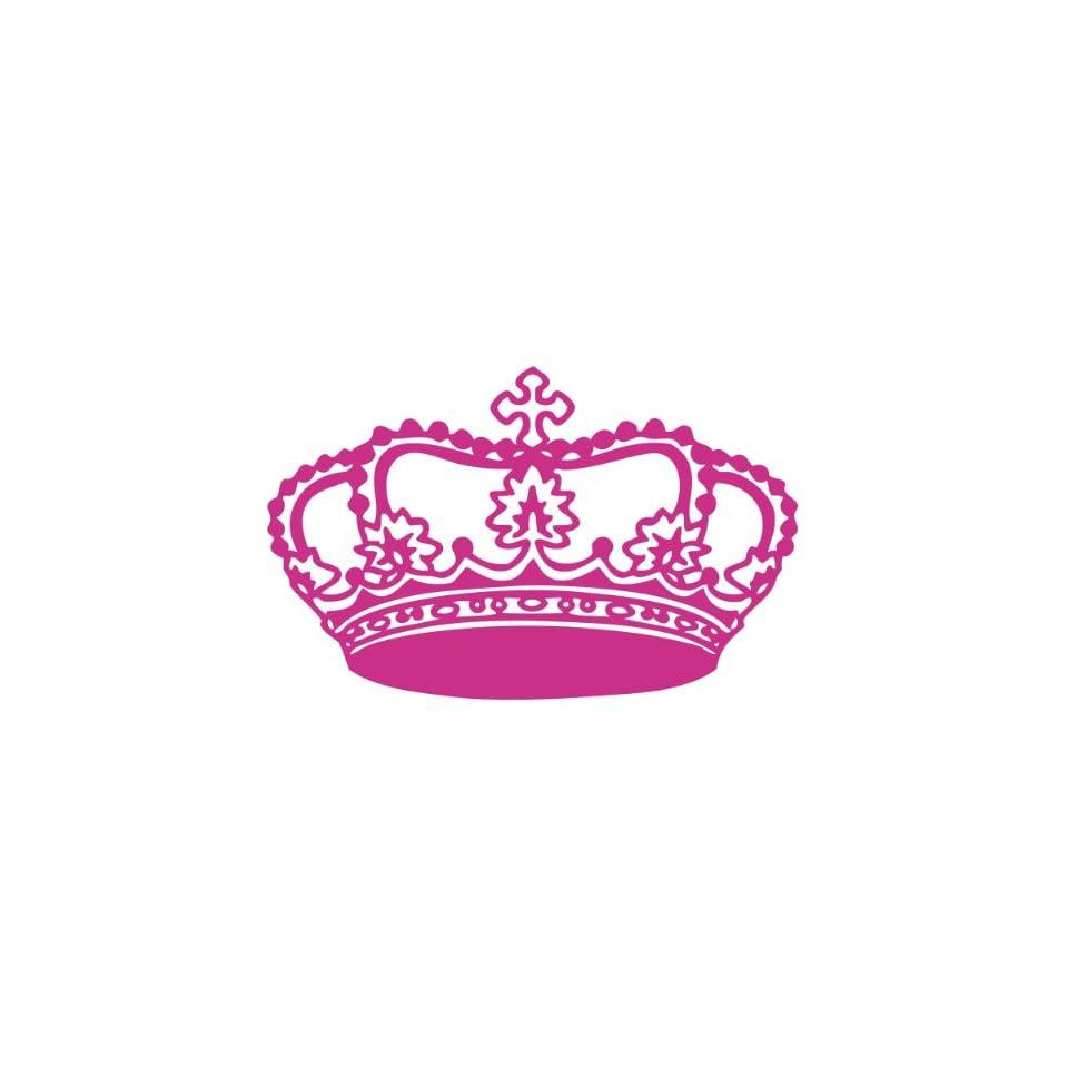 Princess Tiara Crown Cute Girl Vinyl Decal Sticker Custom