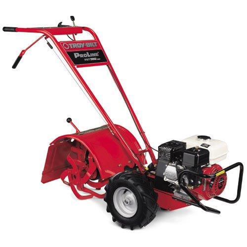 troy bilt tiller pro line frt rear tine garden tiller review outdoor power buddy