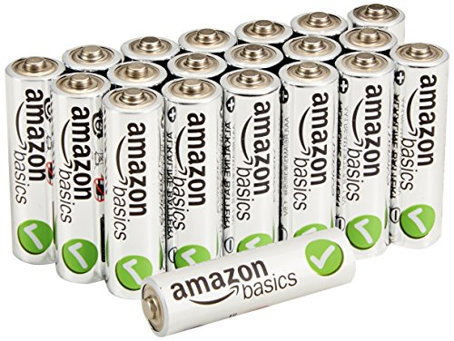 AmazonBasics AA Performance Alkaline Batteries (20-Pack)