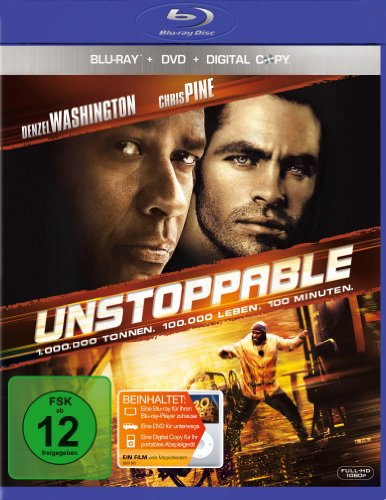 Unstoppable - Außer Kontrolle (+ DVD + Digital Copy) [Blu-ray]