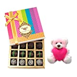Delicious Treat To Your Love With Teddy- Chocholik Belgium Chocolates
