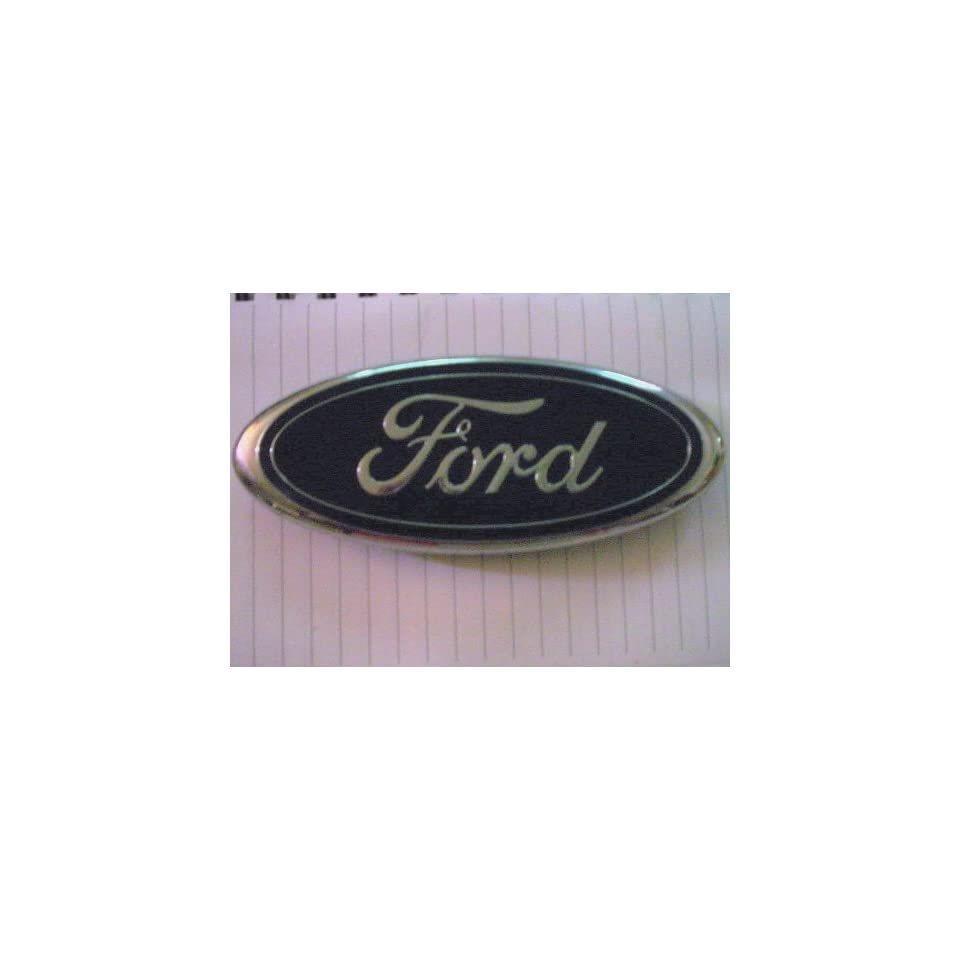 Ford Econoline Van rear door Logo Emblem Badge Nameplate oval OEM