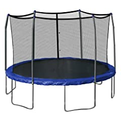 Skywalker Trampolines 15-Feet Round Trampoline and Enclosure with Spring Pad by Skywalker