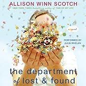 The Department of Lost & Found: A Novel | [Allison Winn Scotch]