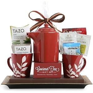 Tazo Tea Set -Red