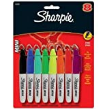 Sanford Ink Corporation Sharpie Mini Markers, Fine Point, 8/St, Assorted
