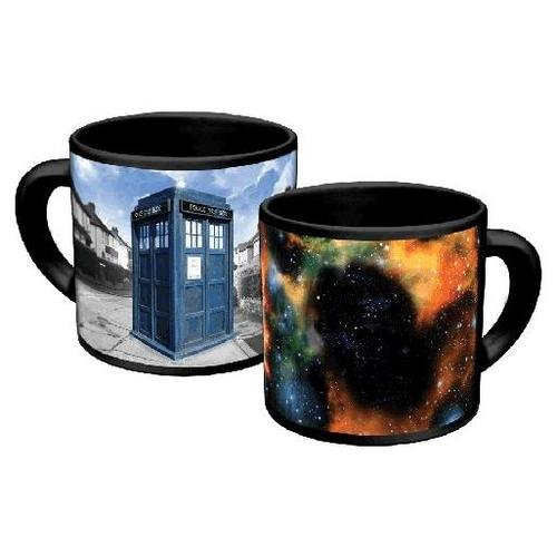 Unique mug that has disappearing tardis
