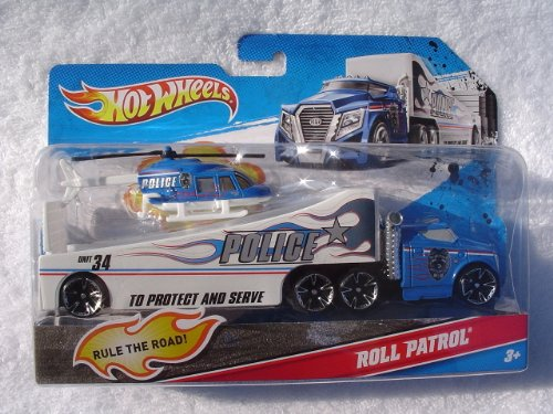 Hot Wheels Tractor Trailers Hot Wheels Police Tractor