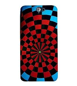 printtech Aim Board Dart Board Back Case Cover for HTC One A9