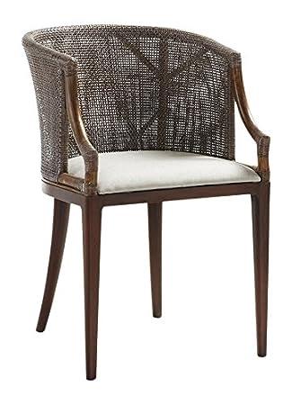 Moycor Rattán - Sillón Luxor tapizado, 55x58x79 cm