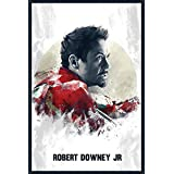Iron Man Movie Poster For Kids Room And Office - 100yellow