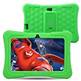 Dragon Touch Y88X Plus 7 inch Kids Tablet 2017 Disney Edition, Android 5.1 Lollipop, IPS Display, Kidoz Pre-Installed w/ Bonus Disney Content (more than  Value)-Green