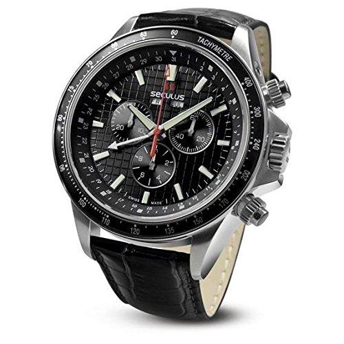 seculus-marcopolo-herren-armbanduhr-46mm-armband-leder-gehause-edelstahl-batterie-95312504f-lb-ss-b