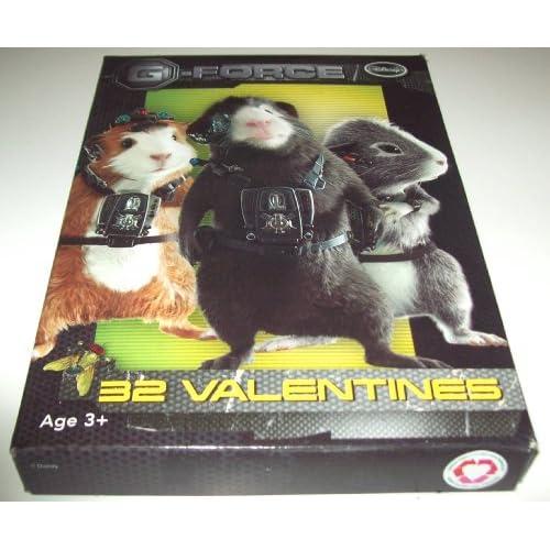 Disney G force 32 Kids School Valentines Day Cards NEW