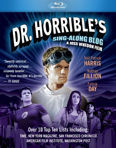 Dr. Horrible's Sing-Along Blog [Blu-ray] starring Neal Patrick Harris, Nathan Fillion and Felicia Day