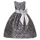 Kids Dream Girls Animal Print Christmas Dress
