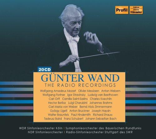 ギュンター・ヴァント / 放送録音集 1951~1992 (Gunter Wand : Radio Recordings) (20CD Box) [輸入盤] - Box Set
