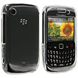 Clear Crystal Hard Skin Case Cover for Blackberry Curve 8520 8530 3G 9300 9330
