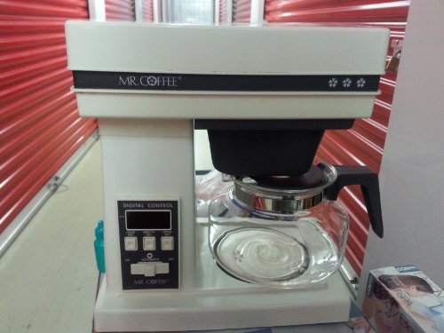 Vintage Mr.Coffee Digital Control System 10 Cup