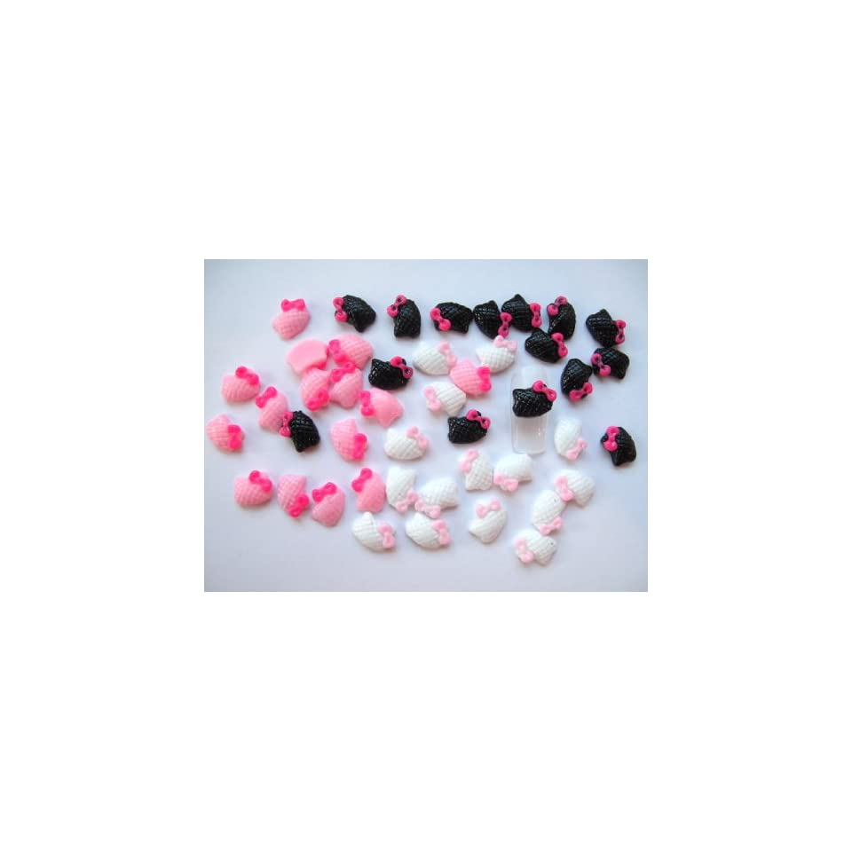 Nail Art 3d 45 Pieces Mix Quilted HK Head for Nails, Cellphones 1.1cm