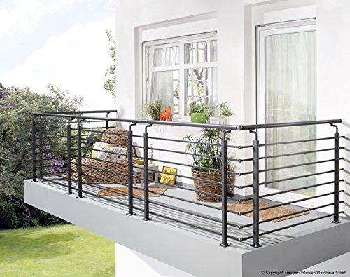 edelstahlgel nder zur selbstmontage was. Black Bedroom Furniture Sets. Home Design Ideas