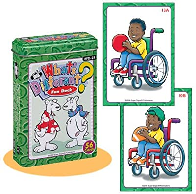 Whats Different Fun Deck Cards - Super Duper Educational Learning Toy For Kids from Super Duper® Publications