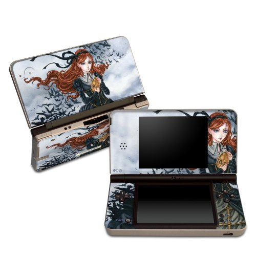 Raven's Treasure Design Protective Decal Skin Sticker for Nintendo DSi XL Game Device