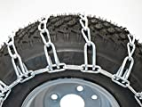 New Pair of 26x12x12 26x12.00-12 Snow Mud Traction TIRE CHAINS, 2-Link Spacing