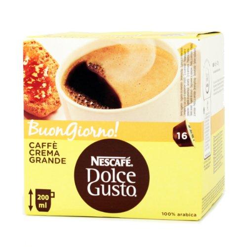 Nescafé Dolce Gusto Caffè Crema Grande Coffee Capsiles