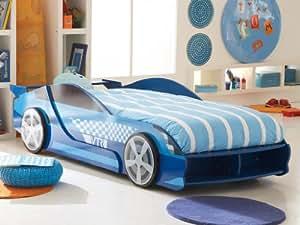 GTA Autobett Kinderbett Blau