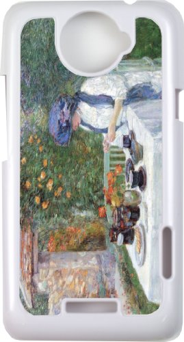Rikki Knighttm Childe Hassam Art The Terre-Cuits Tea Set - White Cell Htc One X Case Cover For Htc One X