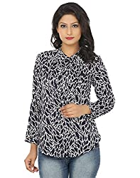 Adhaans Women's Printed Casual Shirt