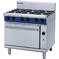 Heavy Duty 51kW Natural Gas Oven Range Commercial Kitchen Restaurant Cafe Chef