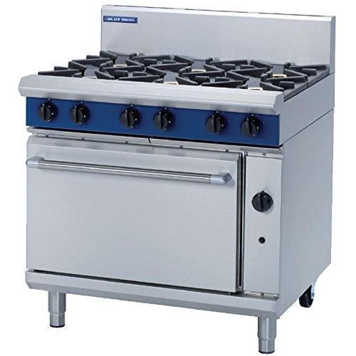 Heavy Duty 51kW Propane Gas Oven Range Commercial Kitchen Restaurant Cafe Chef