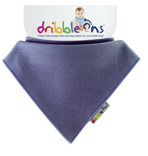 Bright Blueberry Dribble Ons Dribble Bib