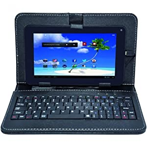 """Proscan PLT7223GK4 7"""" Tablet with case and keyboard"""