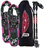 Redfeather Snowshoes Women's Series Hike SV2 Snowshoe Kit, 25