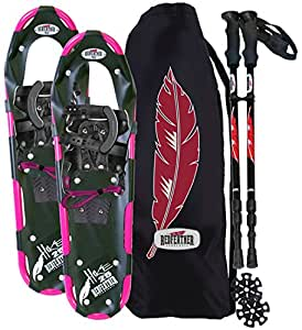 RedFeather Women's HIKE Recreational Series Snowshoe Kit