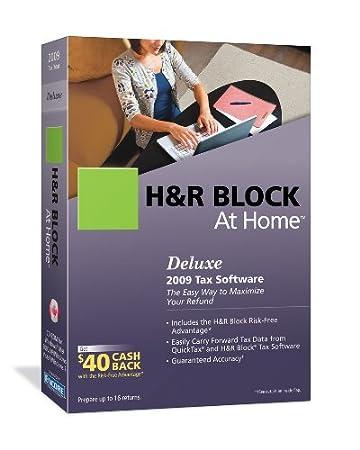 H&R Block Deluxe 2009