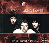Live in Concert & More by Emerson Lake & Powell (2012) Audio CD