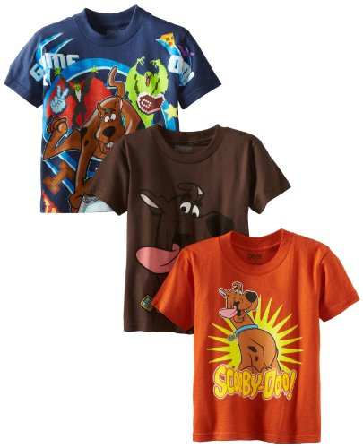 Scooby Doo Boys  4-7 Three-Pack Tee Shirts