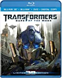 51iO2rrNdwL. SL160  Transformers: Dark of the Moon (Three Disc Combo: Blu ray 3D / Blu ray / DVD / Digital Copy)