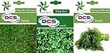 DCS Doob Grass,Methi &Soya Baji Seeds (3 Per Pack 1 Gram Each)