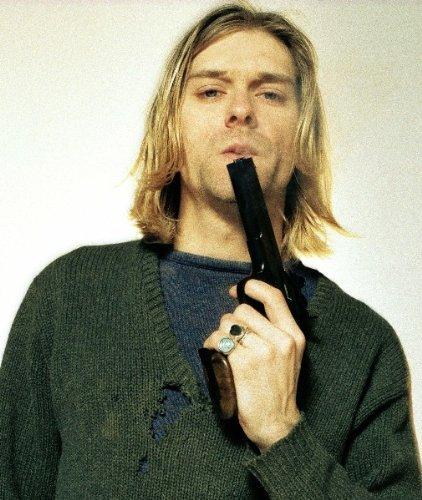 Kurt Cobain Nirvana riproduzione Foto Poster 40x 30cm