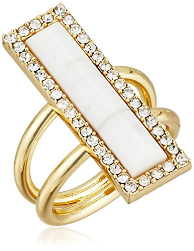 t-tahari-madison-gold-tone-how-lite-crystal-ring-size-7