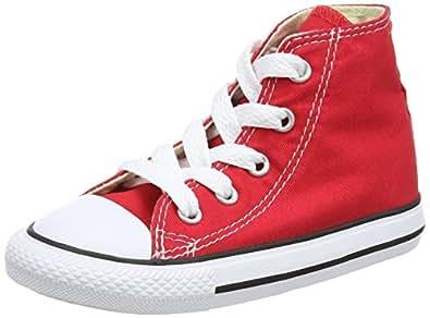 Converse Chuck Taylor All Star Core Hi, Baskets mode mixte bébé - Rouge, 20 EU