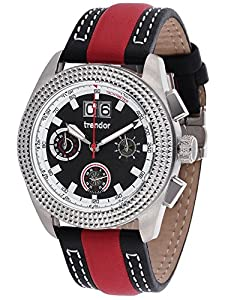 trendor 7637-01 Big Date Chronograph Mens Watch