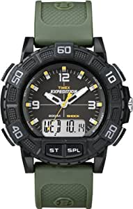 Timex Expedition Analog-Digital Black Dial Men's Watch - T49967