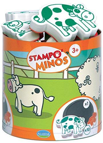 aladine-85102-loisir-creatif-stampominos-ferme