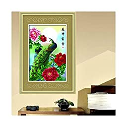 Diamond Painting Fortune Comes with Blooming Flowers Living Room Diamond Stitch Diamond Paste Cross Stitch